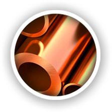 recubrimiento en cobre