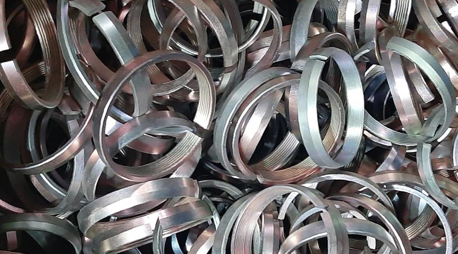 Recubrimiento en zinc